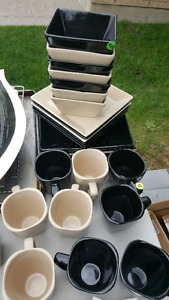 Plates and cups brand new condition