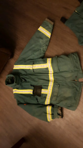 Large FR Winter jacket and overalls