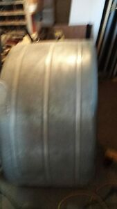 Two Galvanized Fenders