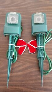 Christmas Light Timer Stakes - slightly used