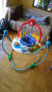 balançoire, jumperoo laugh and learn, exersaucer