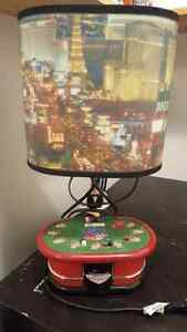 Table lamp - poker Las Vegas baby