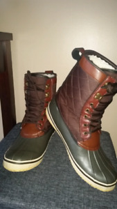 EUC - Men's Joe Fresh Winter / Fall /Rain Duck Boots Size 10