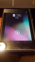 Nexus 7 32GB (2012) w/ Original Box, Charger and 2 Cases - $120!