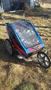 Chariot Cheetah 2 double stroller