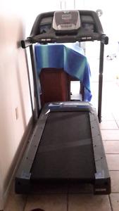 Horizon fitness treadmill.     Hardly used.