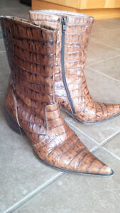 Women's Cowbow leather boots