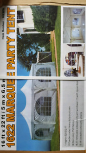 16x22 party tent for sale