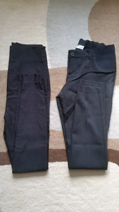 2 pairs of Thyme maternity dress pants