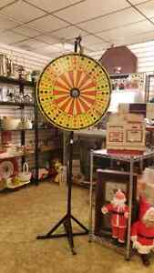 crown and anchor gambling wheel only 100