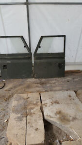 Land Rover Defender Front Fenders and Doors