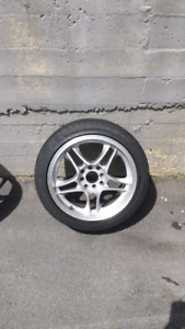 Two sets of rims