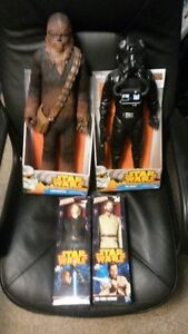 Large Star Wars Figures MIB