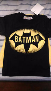 Brand New with tags Batman t-shirt with detachable cape