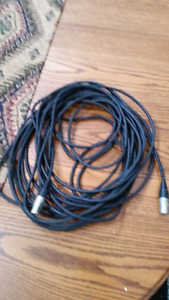 50' microphone cable $20
