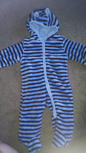 Infant boy 6-9 months snowsuit
