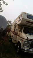 Nice condition motor home. 99kms, not miles. $2,500