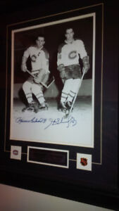 Montreal Canadiens - Richard (Henry & Maurice) brothers - Black