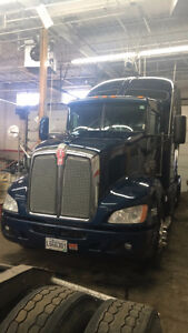 Kenworth t660 with Tripac