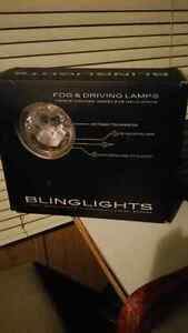 3 inch fog lights with onoff switch and wiring. best offer