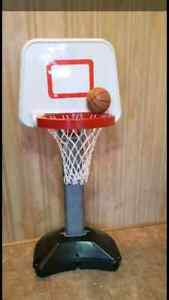 Adjustable little tykes basketball net