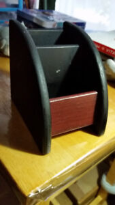 Vintage wooden phone keeper  Size 4/3 inches , High 4 inches $5