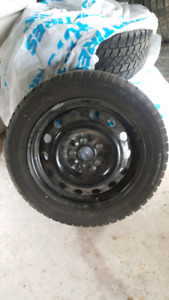 Arctic Claw Winter tires 205 55  R16 with Rims