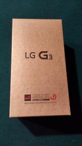 Téléphone Cellulaire Android LG G3 avec étui de protection