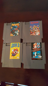 Nes and snes games
