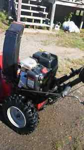 Snow blower SOLD