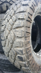LIKE NEW LT245/75/R16 GOODYEAR DURATRAC AT TIRES