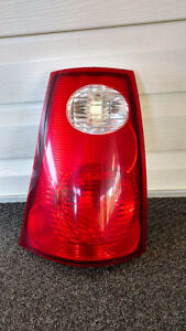 Drivers side rear tail light assembly