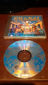 Rise & Rule of Ancient Empires, PC, disc and case only