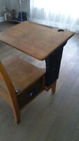 vintage kids desk with chair