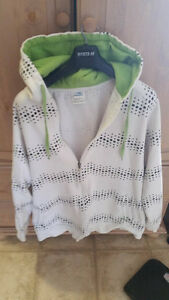 3 Oversized Zippered Sweaters - (2 - XXL 1 - XXXL) Used - O.B.O