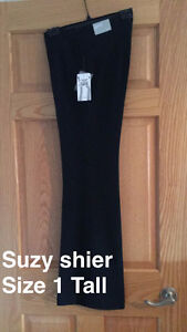 Suzy Shier Black Pants-With Tags!!!