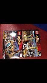 Brand new super hero Lego sets
