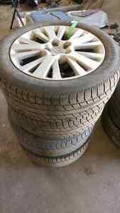 Mazda 6 wheels and tires 215/55/17