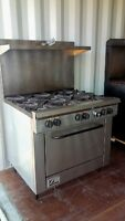 SOUTHBEND COMMERCIAL 6 BURNER GAS STOVE/OVEN - WORKS GREAT!