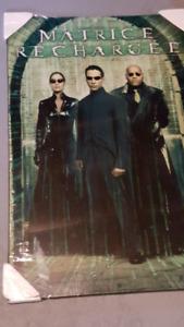 Matrix reloaded and matrix revolutions movie plaques