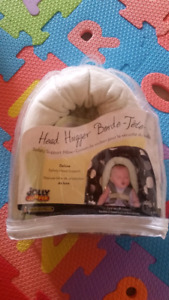 Deluxe safety head support for baby