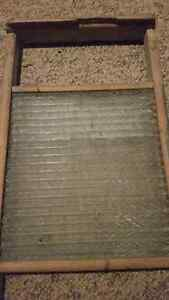 Antique glass washboard London Ontario image 2