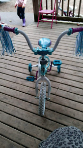 Girls frozen bike 12 inch