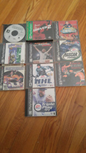 Sony Playstation game lot