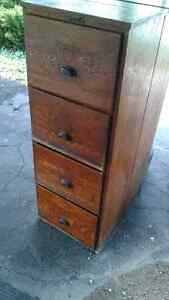 Antique Filling Cabinet