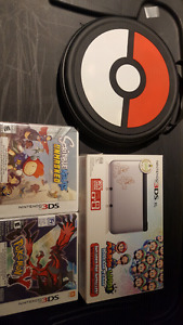 3dsxl Mario & Luigi plus games and case