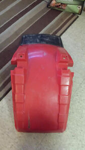 1985-87 Big Red front fender with mud flap