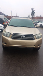 2008 Toyota highlander.sport.finance available