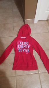 Hollister and Aeropostal hooded sweaters