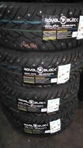 NEW studded TIRES 205/55/16-380$txin4tires *2150 Hymus, Dorval*